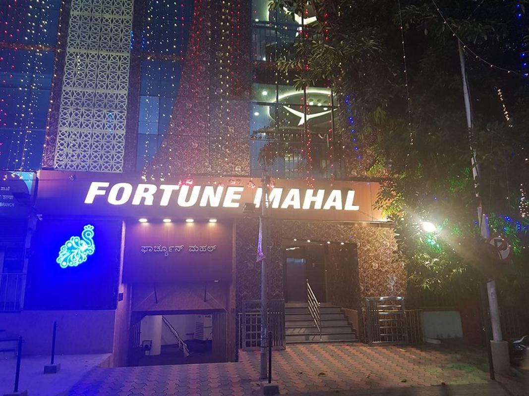 Fortune Mahal in JC Nagar, Bangalore