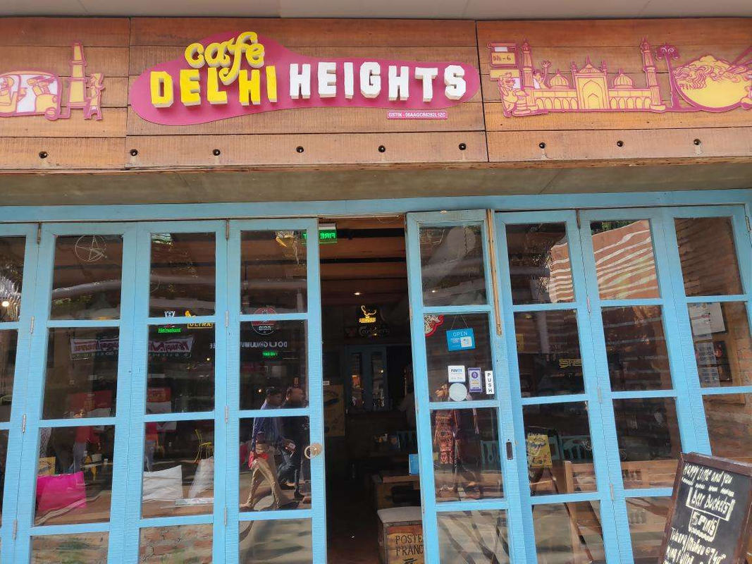 Cafe Delhi Heights in DLF Cyber City, Gurgaon