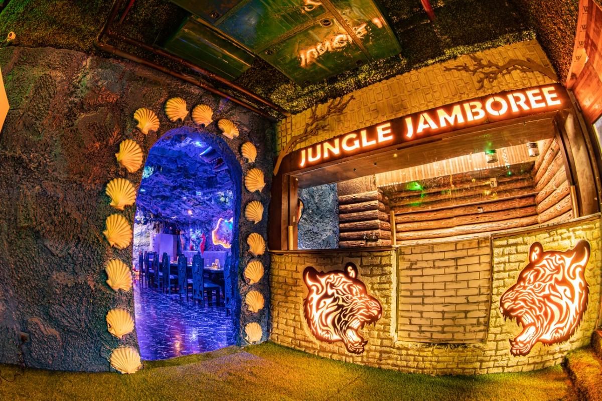 Jungle Jamboree in Ambience Mall, Gurgaon