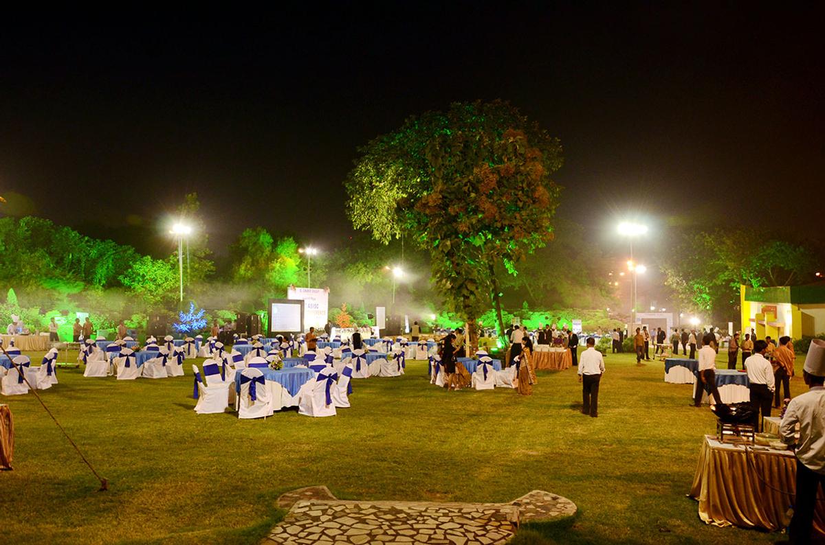 P C Chandra Garden in Science City, Kolkata