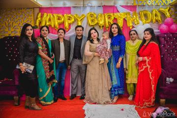 image of first-birthday-party-at-ashirwad-banquets-faridabad-363