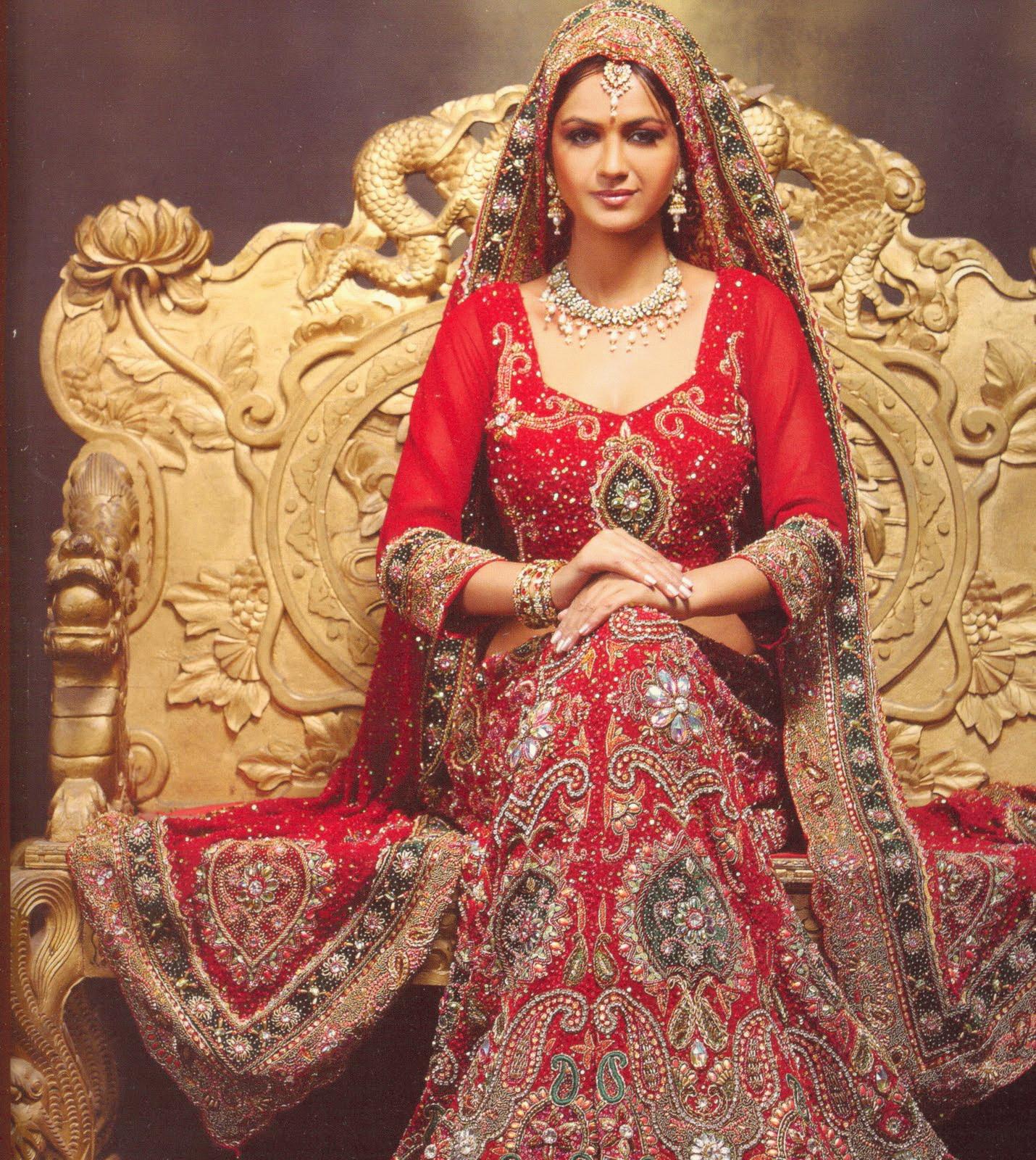 Beautiful Indian Bridal Designer Dresses
