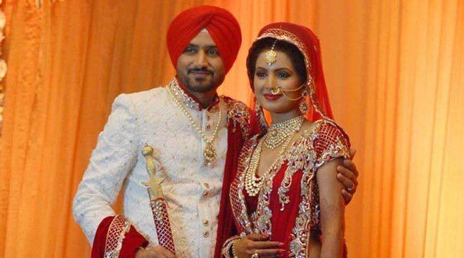 Harbhajan Singh & Geeta Basra Wedding Pictures