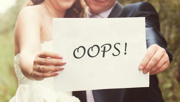 5 Wedding Blunders You need to Avert!