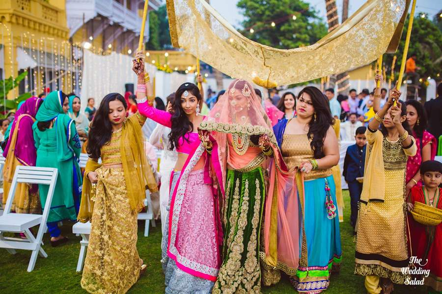8 Outfit Inspirations for  Indian Bridesmaid!