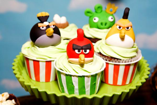 Angry Birds Theme Birthday Party