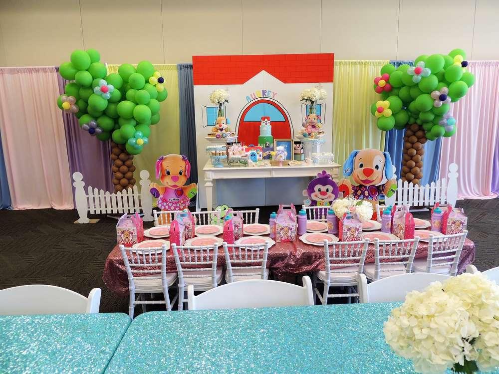 Cartoon Theme 1st Birthday Party