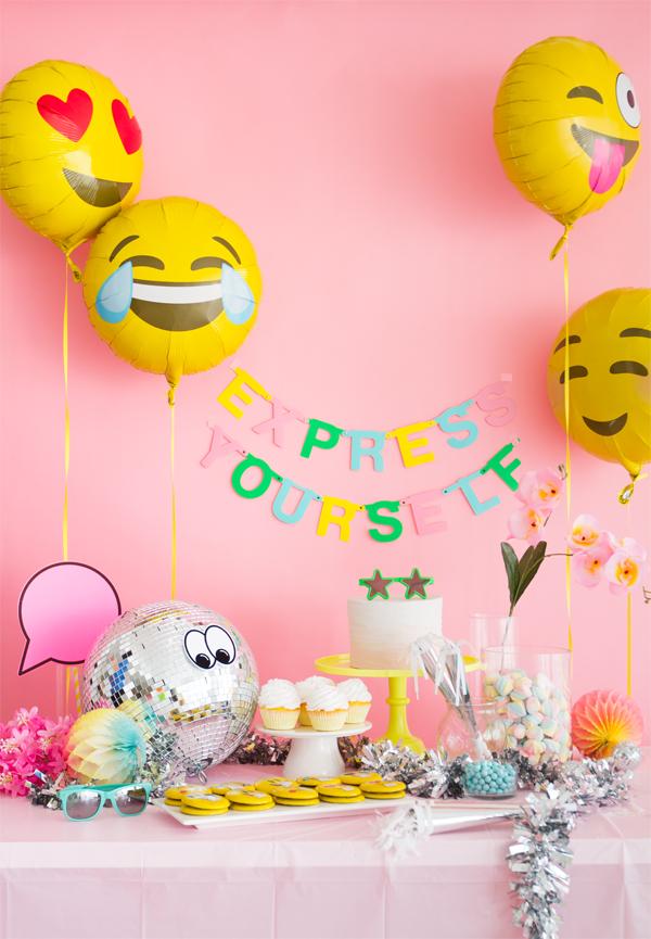 ? Emoji ? Party ? Decoration ?