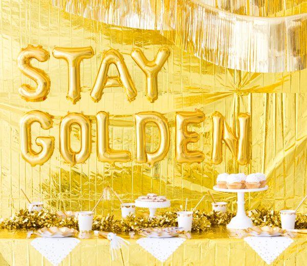 Gold Theme Birthday Party