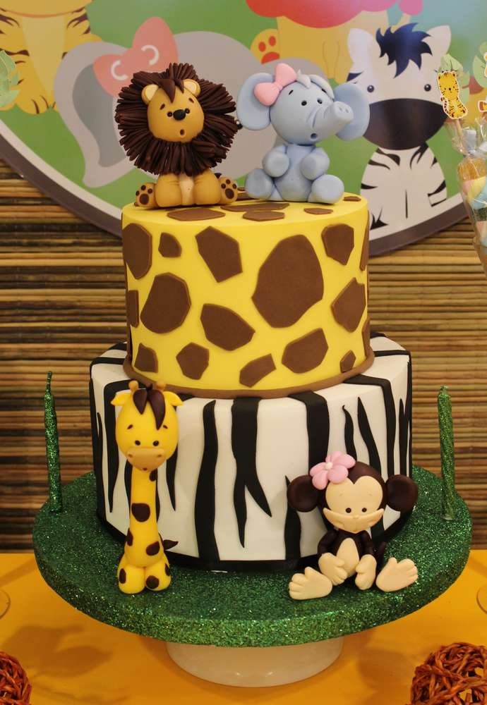 Jungle Theme Kids Birthday Party