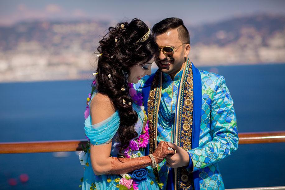 Wedding Diaries: Grand Cruise Wedding of Dubai Based Indian Billionaire