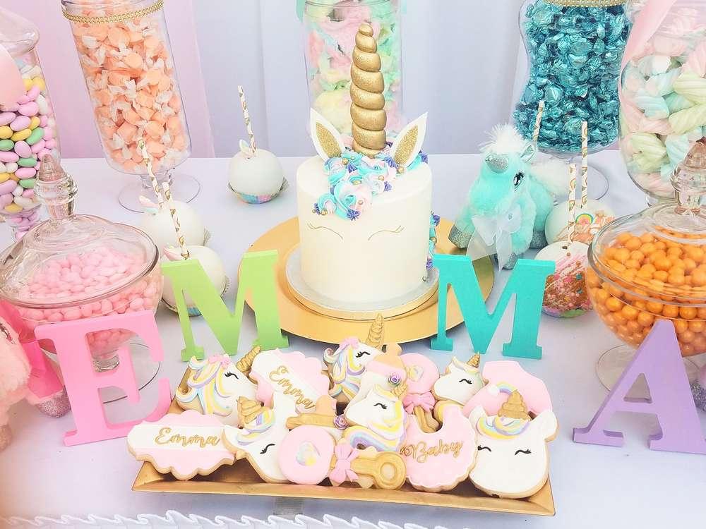 Unicorn ? Theme Baby Shower
