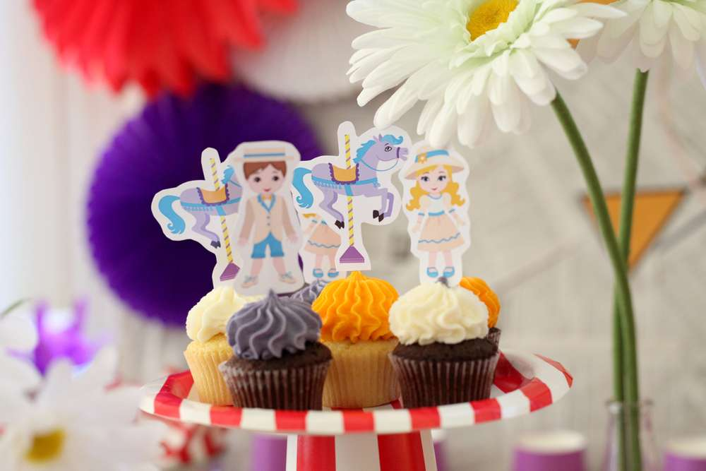 Check Out This 7 Year Old's Jolly Holiday Mary Poppins Themed Birthday Party For Inspiration!