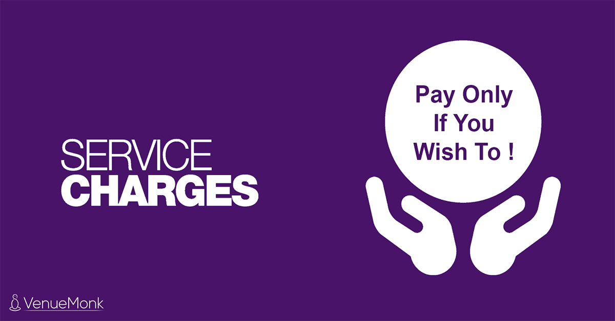 Did You Know - Service Charge is NOT Mandatory at Restaurants and Hotels?