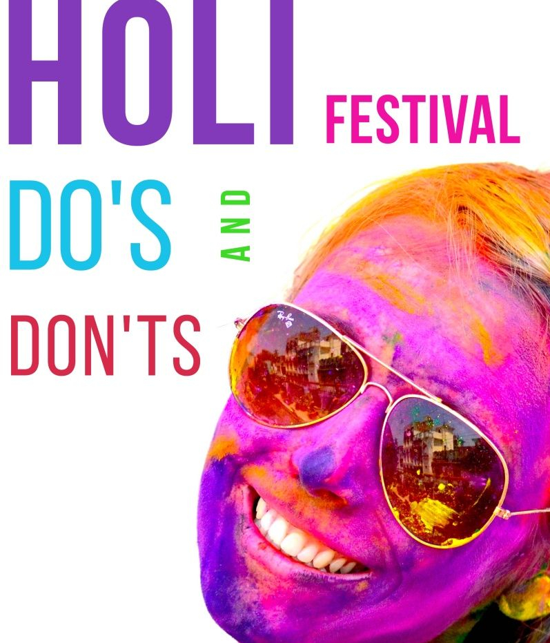 Holi Party-Do's and Don't's