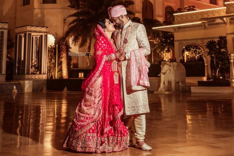 This bride has driven everyone's heart with her amazing Bridal Outfits.