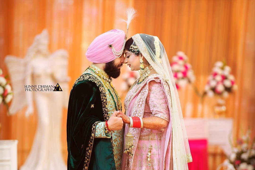 A Simple And Blissful Punjabi Wedding with Lavish Groom and Bridal Outfits