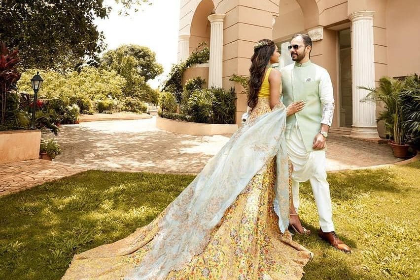 A Magnificent Lock-down Wedding of Eshaa and Siddharth