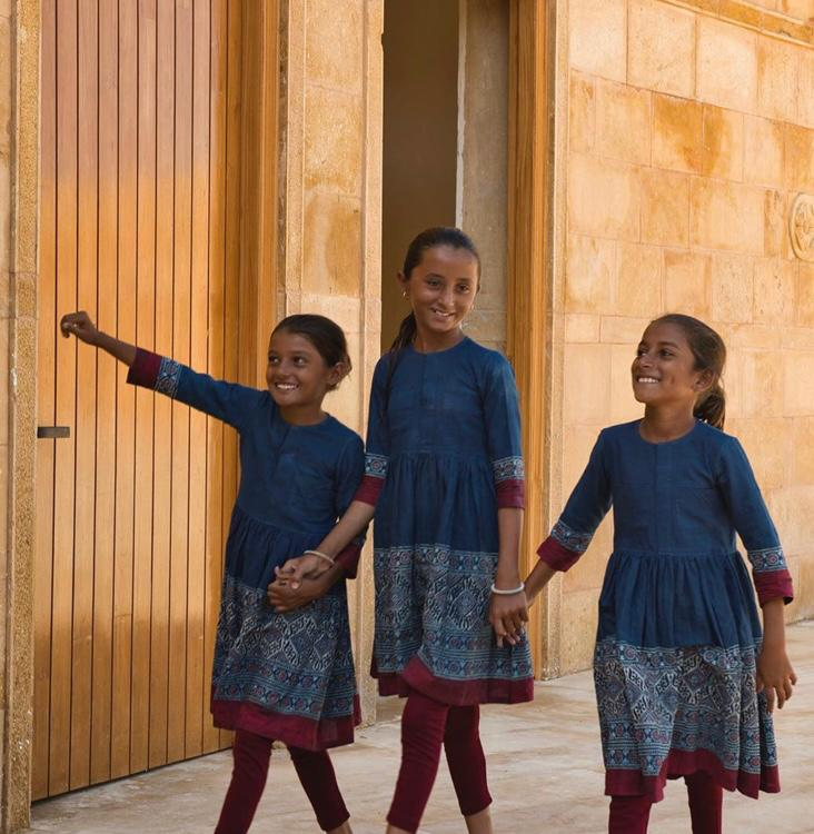 Designer Sabyasachi Mukherjee designs School uniform for Underprivileged Kids