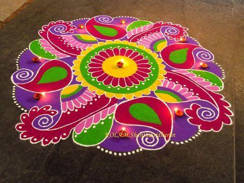 Easy and Simple Rangoli Design Images for Diwali 2020