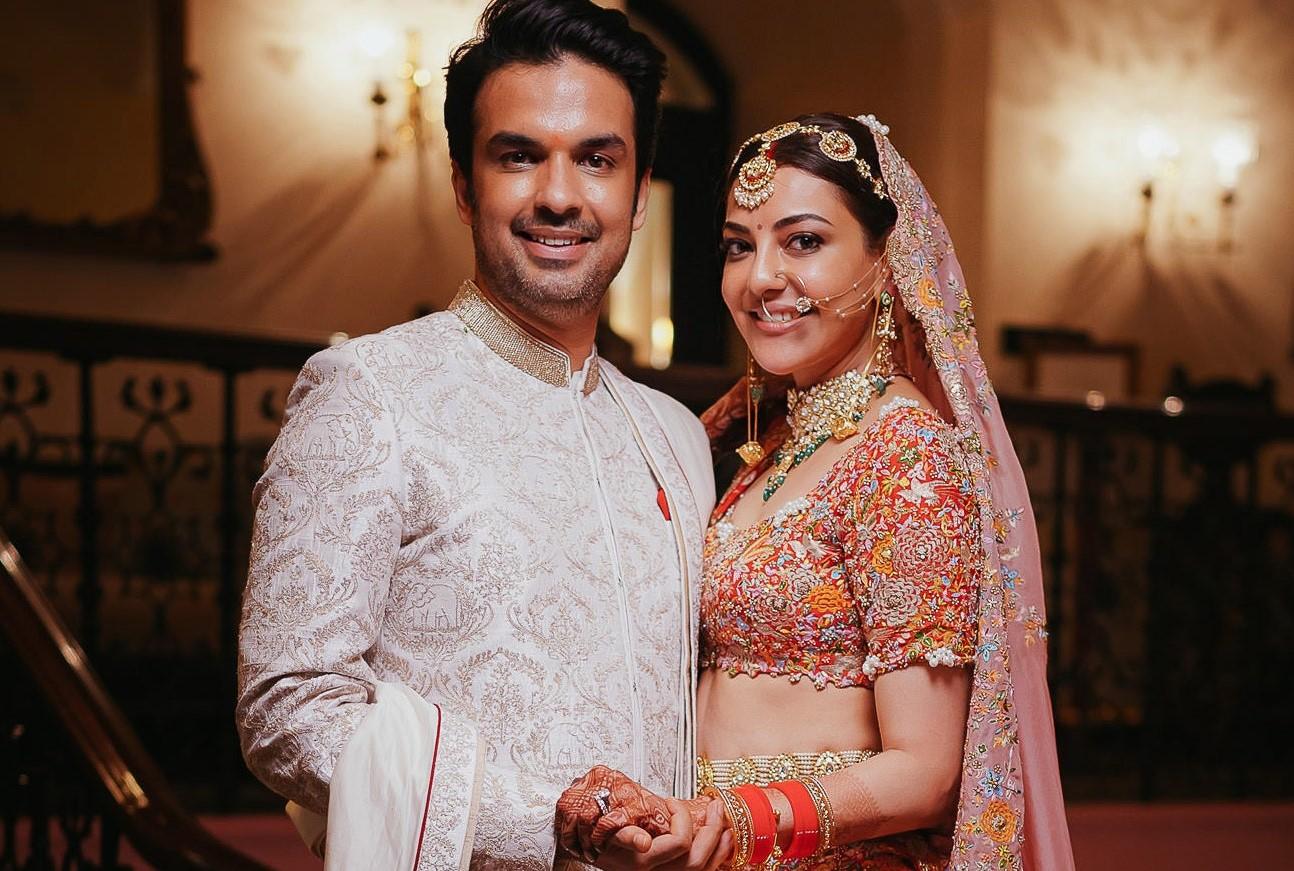 South Indian Actress Kajal Aggarwal and Gautam Kitchlu's Wedding Ceremony- #kajgautkitched