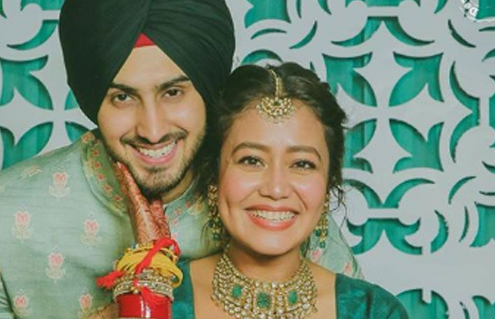 Bollywood Singer Neha Kakkar's Indian Wedding Outfits
