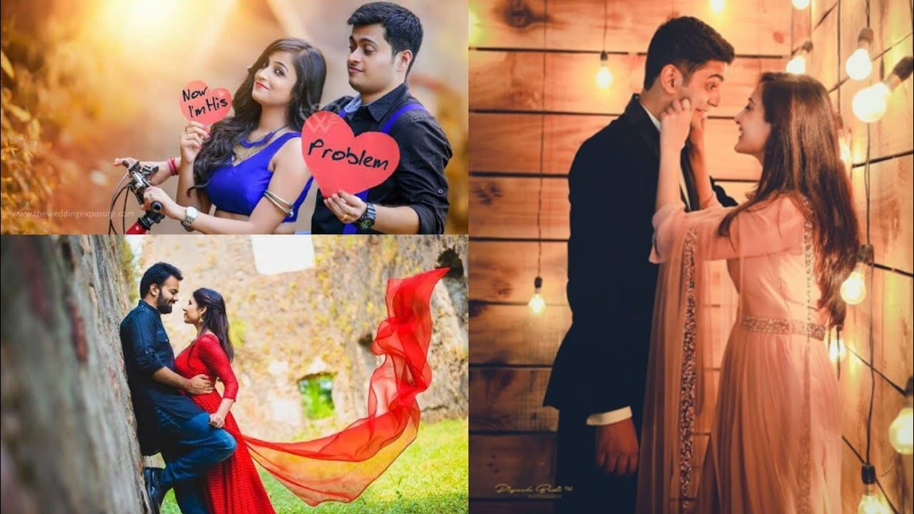 30+ Creative Pre Wedding Photoshoot Poses Ideas