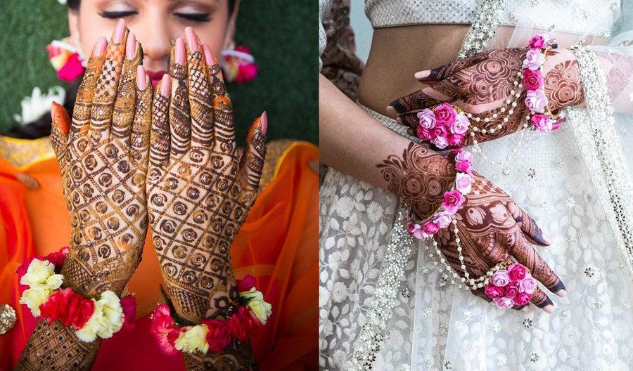 Simple Mehandi Design photos by Famous Bridal Mehandi Wala 2020