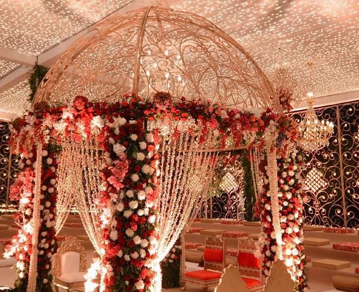 40+ Simple Mandap decoration Ideas and Images for Wedding