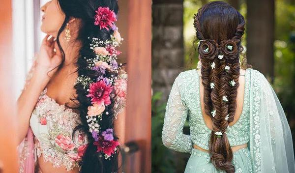 40+ Indian Wedding Bridal Hairstyle for your Long Hair
