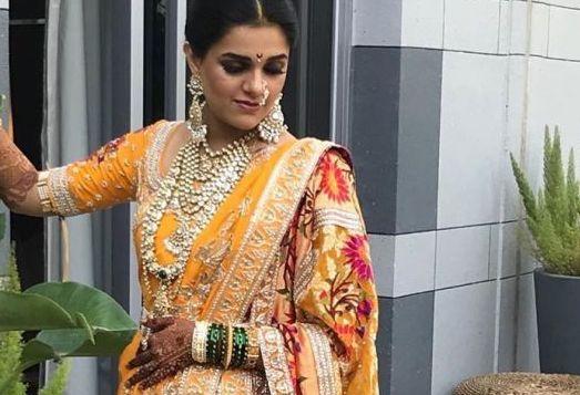 25+ Nauvari Sarees  images and Nauvari look for Maharashtrian Brides