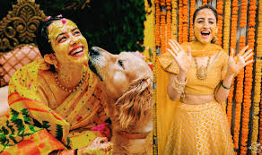 Wedding Decoration Ideas- Bride Haldi Ceremony
