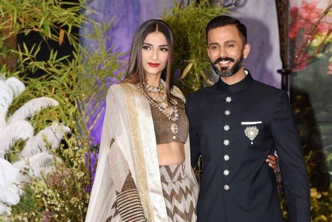 Bollywood Actor Anil Kapoor's Daughter Sonam Kapoor's Wedding Reception at The Leela, Mumbai