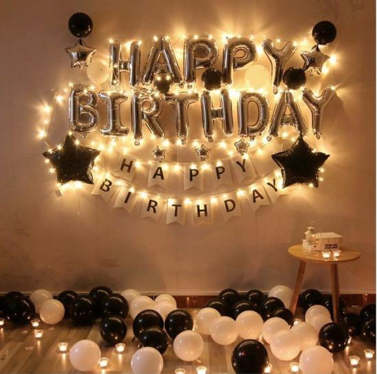 Simple Birthday Decoration Ideas Images For Home Party
