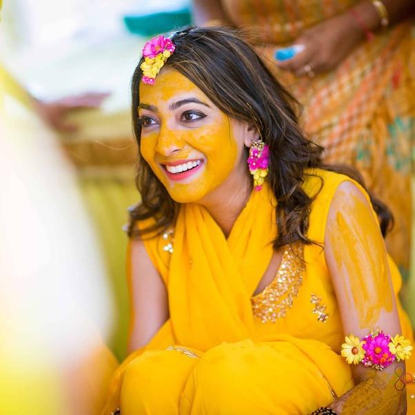 Wedding Decoration Ideas- Bride Haldi Ceremony