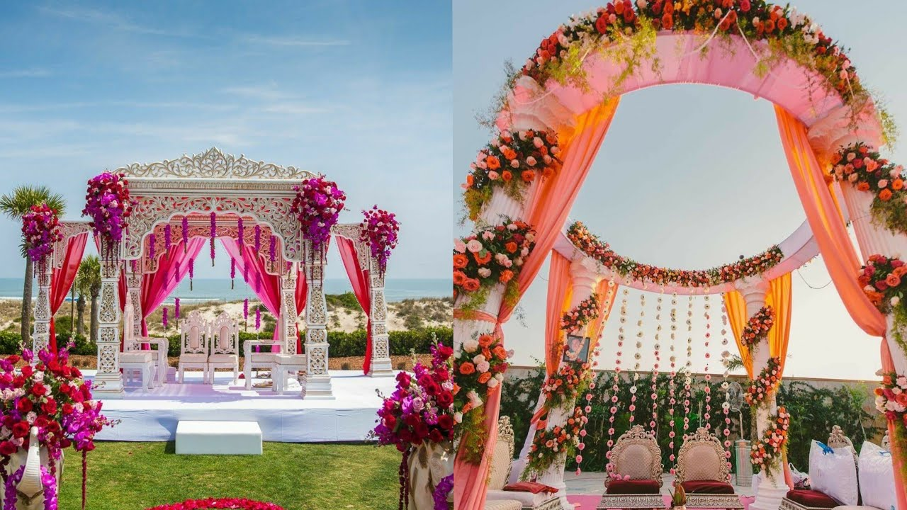 55+ Simple Mandap decoration Ideas and Images for Wedding