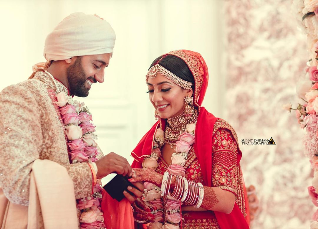 A Destination Wedding in England, where an Elite Punjabi Wedding was held lavishly