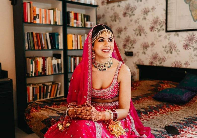 Watch this Red Bridal Lehenga being flaunted at this Classic Hindu Wedding- A Home Wedding Tale