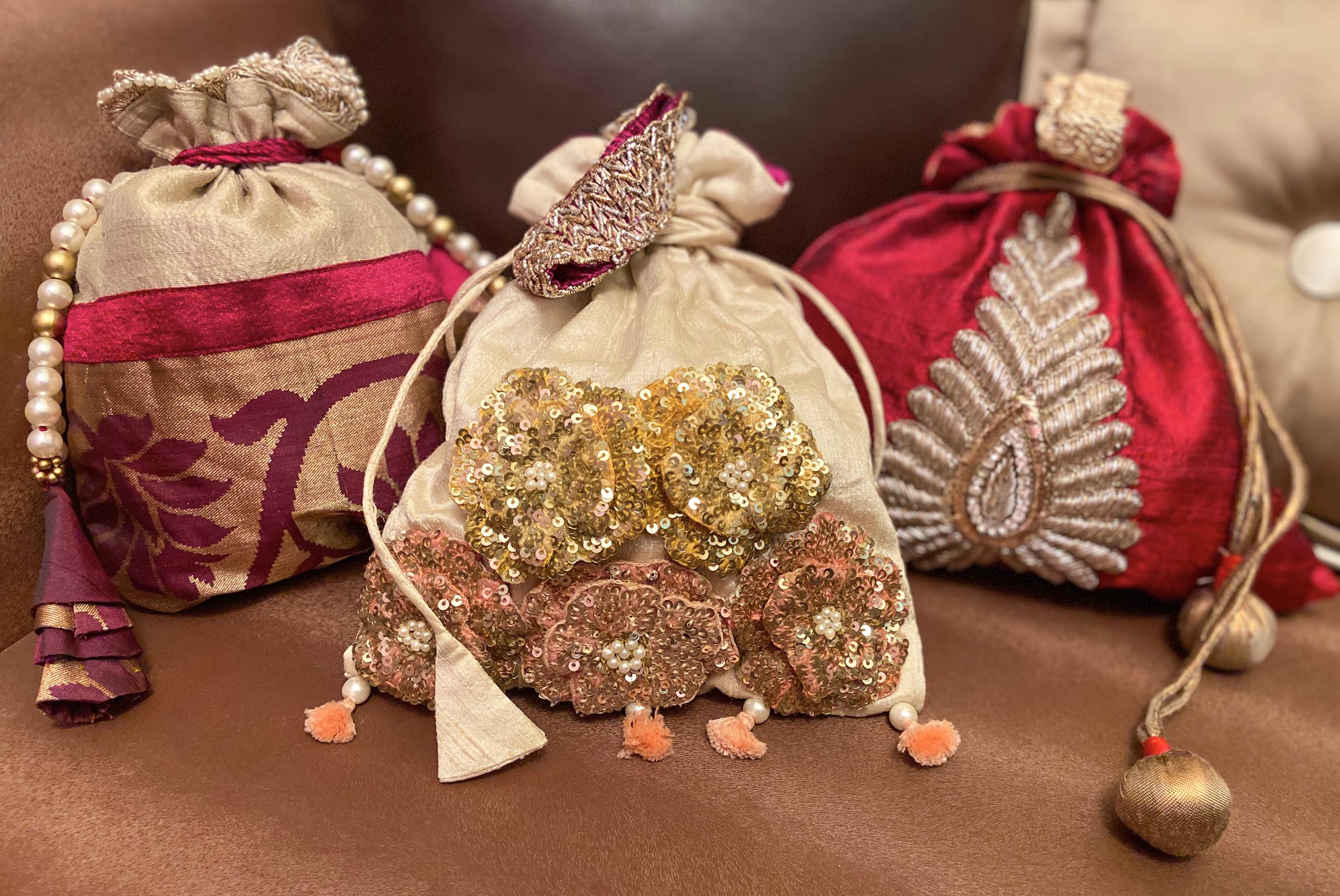 25+ New And Latest Potli Bag Designs For Indian Wedding Ceremonies