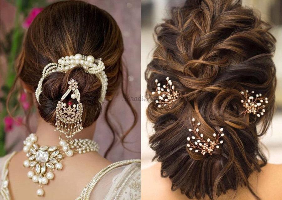Latest Wedding Bridal Hair Accessories for Girls & Women