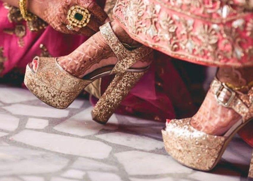 25+ Bridal High Heels Sandals for Indian Wedding Ceremonies