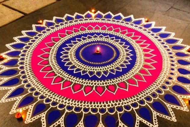 170+ New and Simple Rangoli Design Images- Diwali 2020