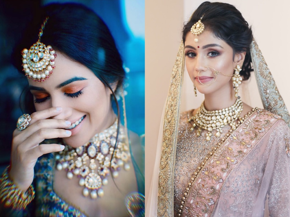 25+ Simple Indian Bridal Look for Traditional Wedding