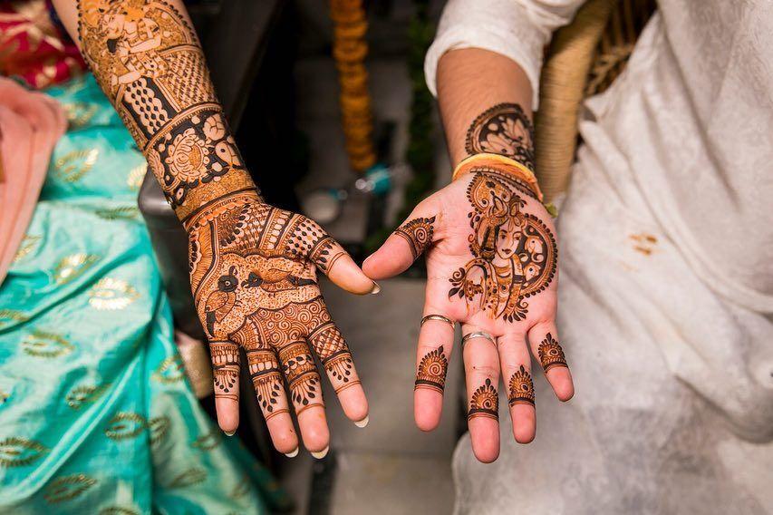 40+ Latest Groom Mehndi Design for Indian Wedding