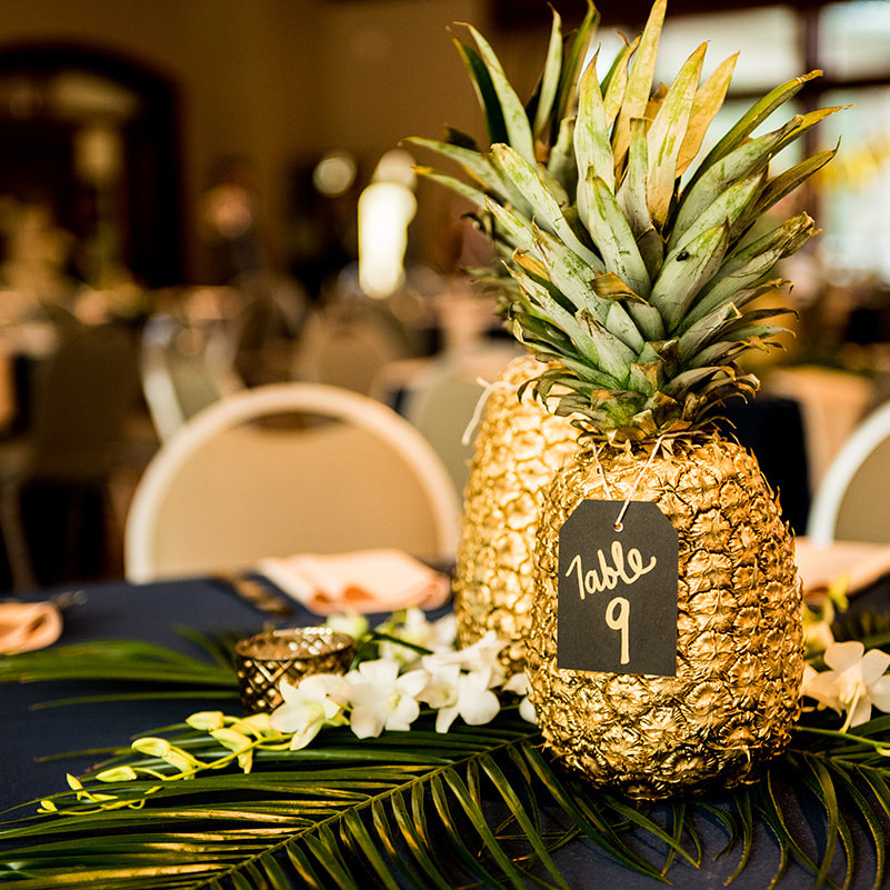 20 Ideas and images  for Pineapple Decor at Indian Wedding