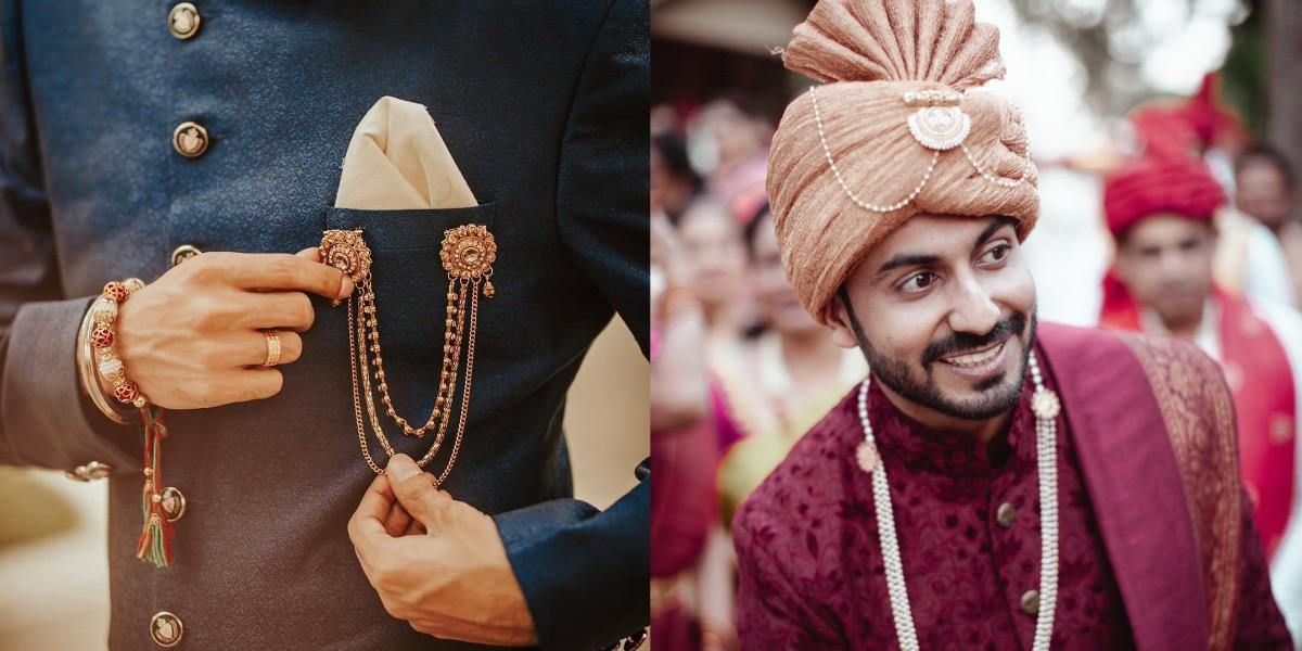 15+ Men's Accessories Trend For Indian Wedding