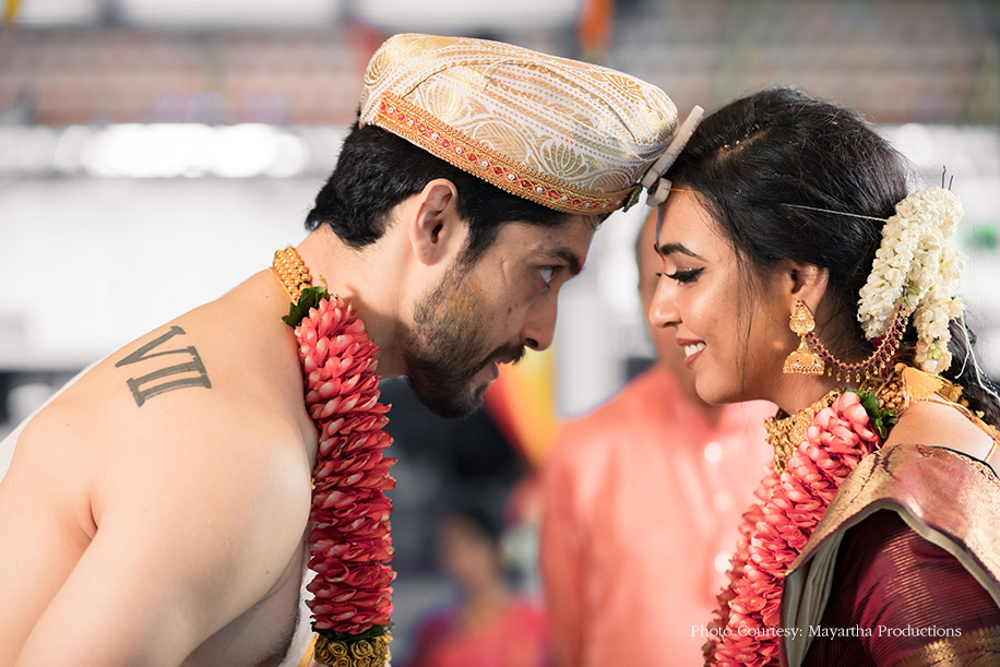 A South Indian Wedding Of a Famous TV Actor Kiran Srinivas and South Indian Actress Hitha Chandrashekar
