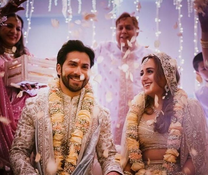 Varun Dhawan And Natasha Dalal's Wedding Pictures