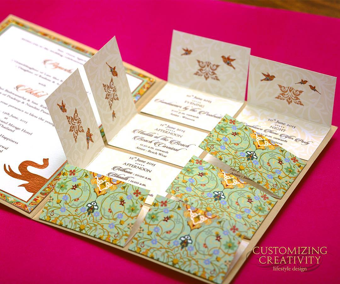 Indian Wedding Invitation Card- Price and Other Details