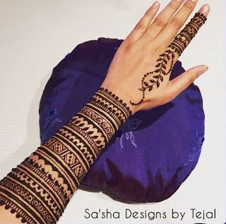 30+ New and Simple Khafif Mehndi Design for Hand and Leg